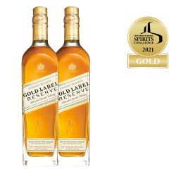Johnnie Walker Gold Label Reserve Blended Scotch Whisky 2X1L Twinpack