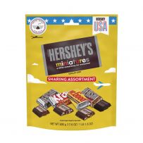 HERSHEY'S Miniatures Assortment Chocolate Pouch 500g