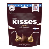 HERSHEY'S KISSES Extra Creamy Milk Chocolate Pouch 375g