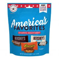 HERSHEY'S America's Favorites Snack Size Chocolate Assortment Pouch 500g