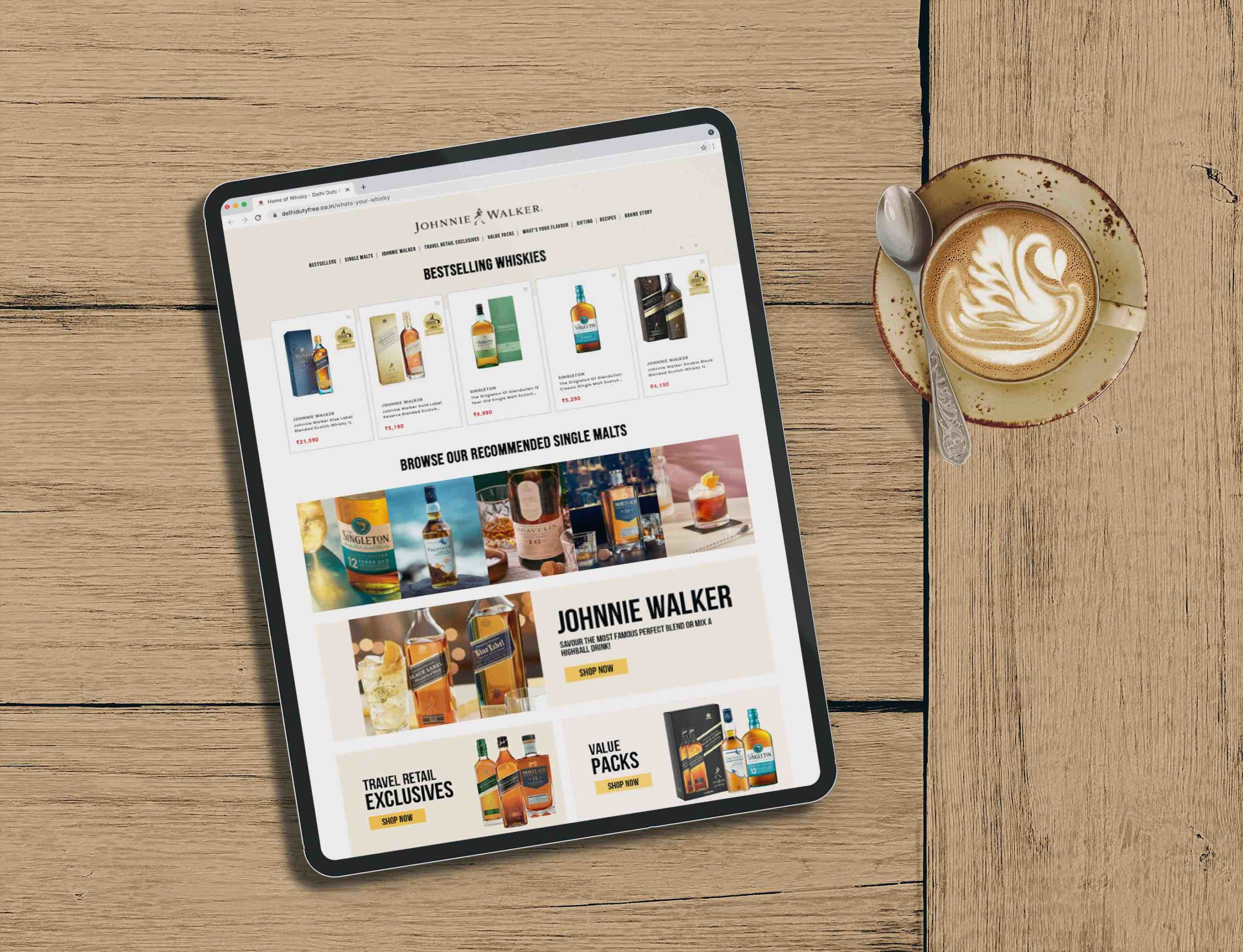 Driving digital connectivity: Diageo and Delhi Duty Free launch innovative online whisky store