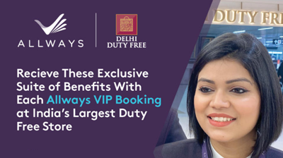 Delhi Duty Free ties up with Plaza Premium Group's Allways brand to offer shopping services