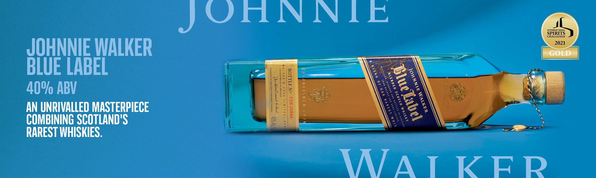 Johnnie Walker Blue Label Blended Scotch Whisky 1L
