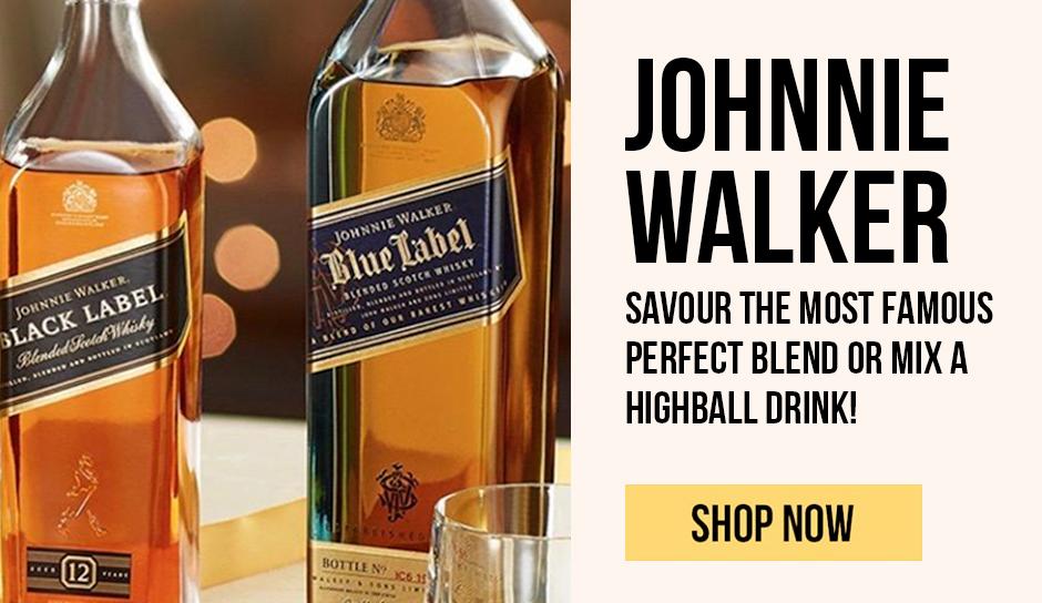 Johnnie Walker perfect blend or mix a highball drink!