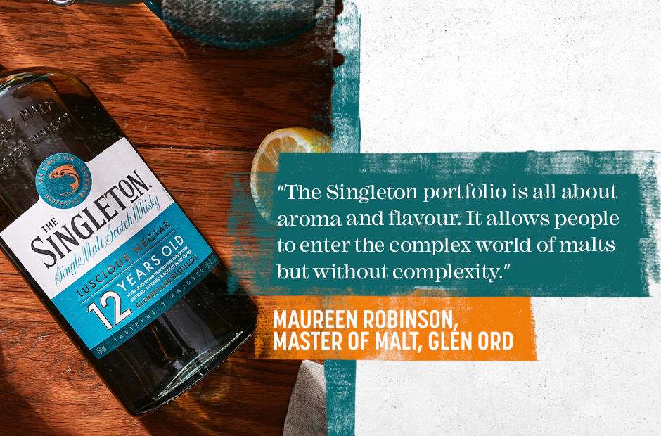 The Singleton - All about aroma and flavour