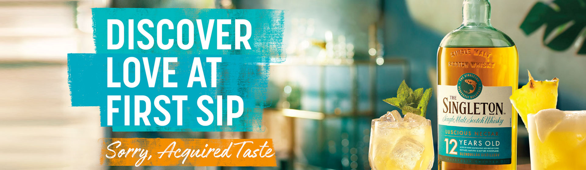 The Singleton - Discover love at first sip